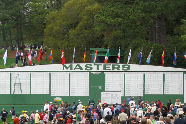 Masters Badges and Hospitality