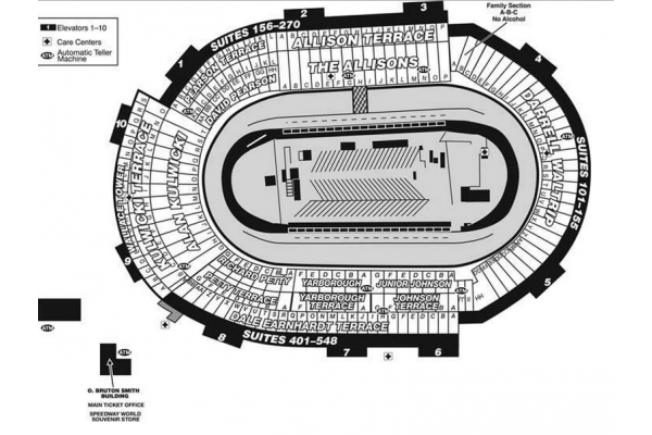 2017 food city 500 race packages tickets tours bristol for Holiday inn near texas motor speedway