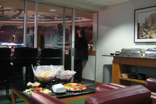 Chicago Bulls Luxury Suite