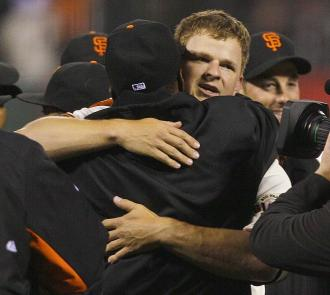 Matt Cain Throws Perfect Game