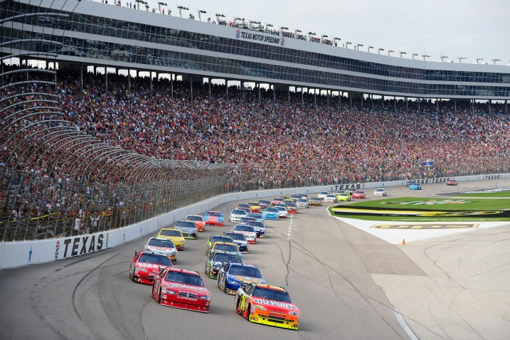 nascar update the best chase track texas motor speedway