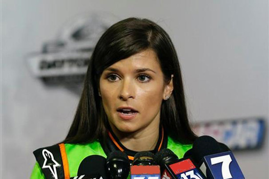 Daytona 500: Danica Patrick Wins the Pole