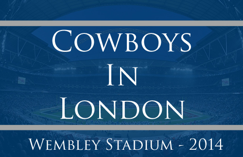 Dallas Cowboys London Game 2014