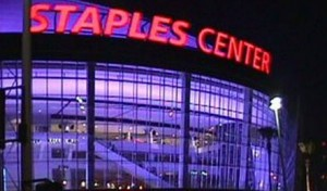 Sports Traveling with Anbritt -  Staples Center in Los Angeles