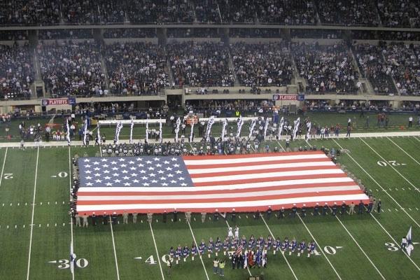 Panthers at Cowboys