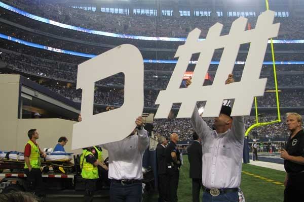 Eagles at Cowboys