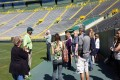 Green Bay Packers Field Access for Stadium Tour