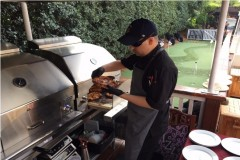 Gourmet Food served at the Masters 1018 Club