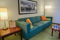 Interior of Springhill Suites Room