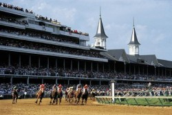 Churchill Downs, home of the Kentucky Derby