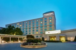 Exterior of Charlotte Doubletree