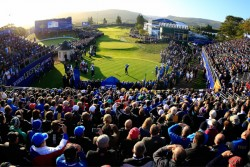 Crowd at the Ryder Cup