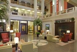 Hilton Garden Inn Downtown Indianapolis Hotel Lobby