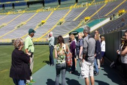 Lambeau Field Stadium Tour Field Access