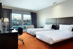 Hotel Room at the Park Plaza Westminster London Hotel