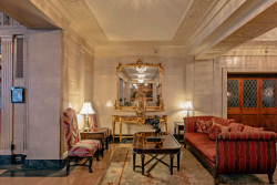 Lobby of the Brown Hotel Louisville