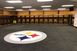 Steelers Locker Room