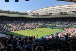 Centre Court at Wimbledon