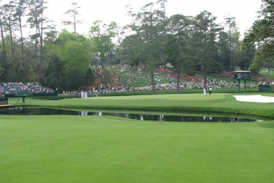 Masters Practice Round at Augusta National Golf Course