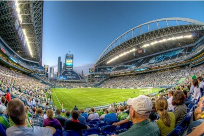 CenturyLink Field during a Seahawks NFL Game