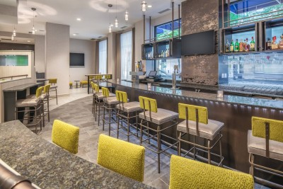 Lounge Area at Springhill Suites Seattle