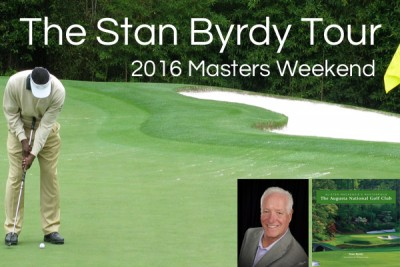 Stan Byrdy Tour & Masters Weekend