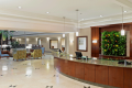 Lobby of the Doubletree Augusta Hotel