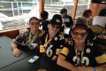 Steelers Fans on the Pre-Game Boat Party