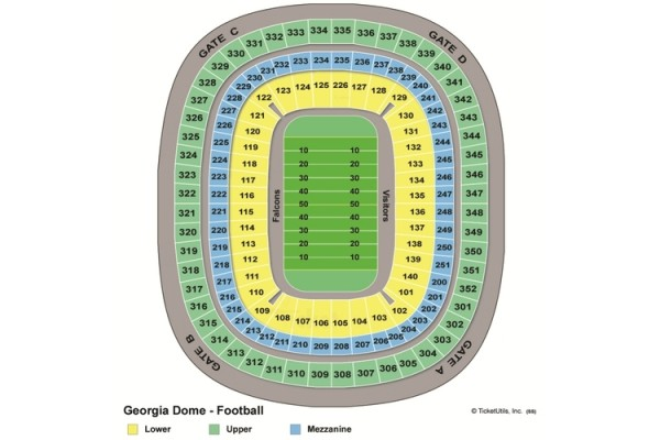 Sec championship tickets packages fan travel tours for Hotels close to mercedes benz stadium atlanta ga
