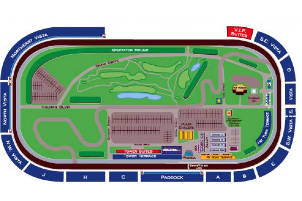2020 Indy 500 Ticket Packages, Travel, Tours - Indianapolis 500 Indy Track Map on