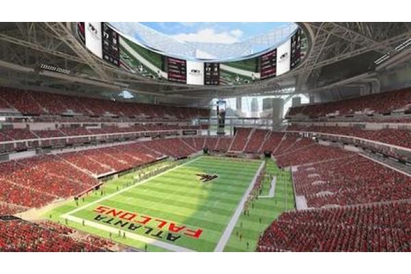 Dallas cowboys at atlanta falcons mercedes benz stadium for Hilton hotels near mercedes benz stadium atlanta