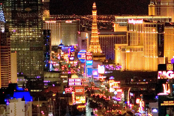 Visit Las Vegas during NASCAR Race Travel Packages