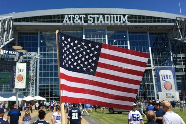 2021 Rose Bowl at AT&T Stadium