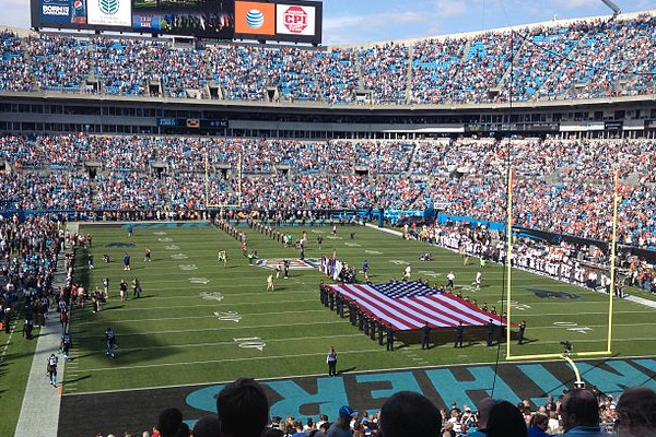 Carolina Panthers Home Game Tickets and Packages