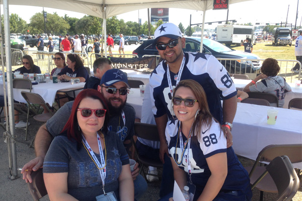 Cowboys Pre Game Tailgate Party