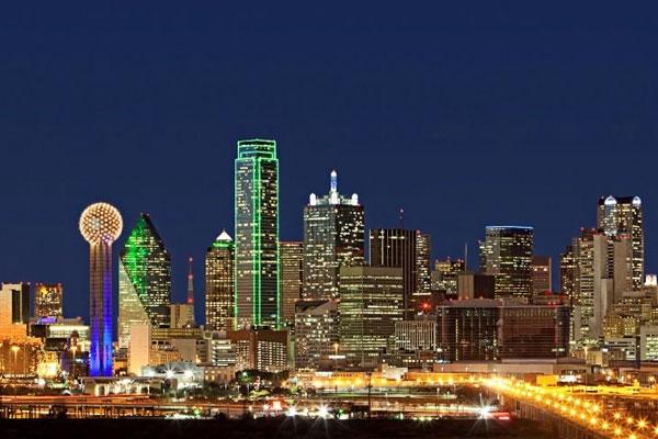 Skyline of Downtown Dallas Texas