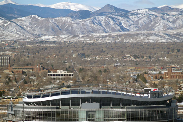Denver Mile High Stadium