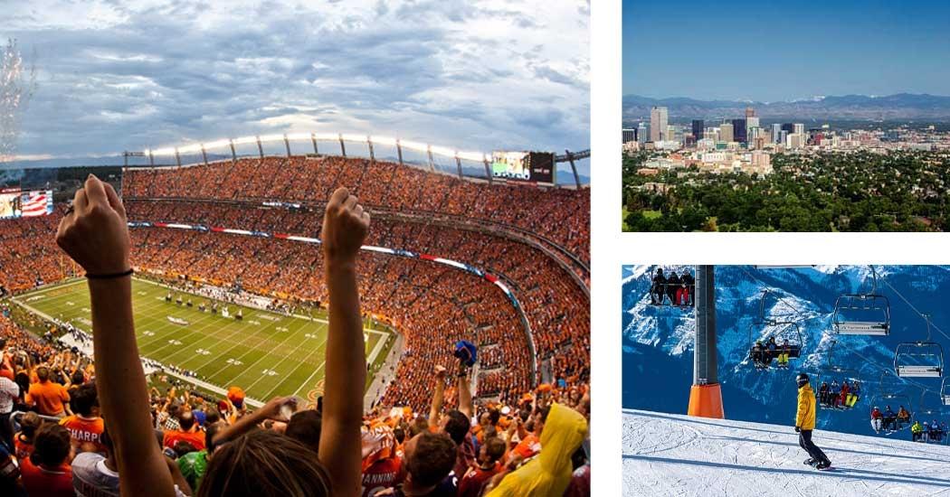 Denver Broncos football weekend adventure