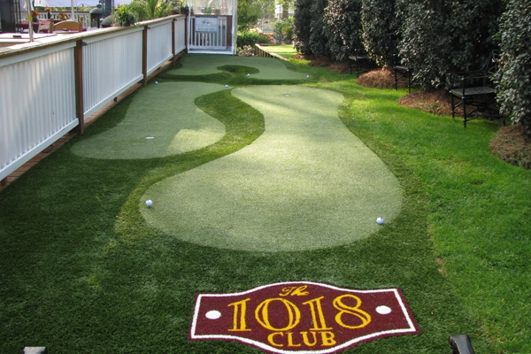 Putting green at Masters Golf Hospitality venue
