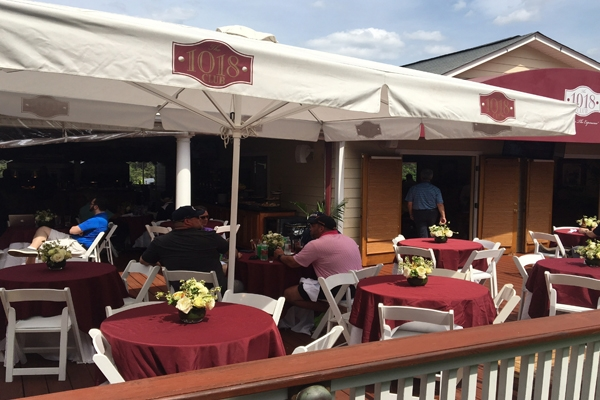 Hospitality club access at the Masters Tournament during the 1018 Club