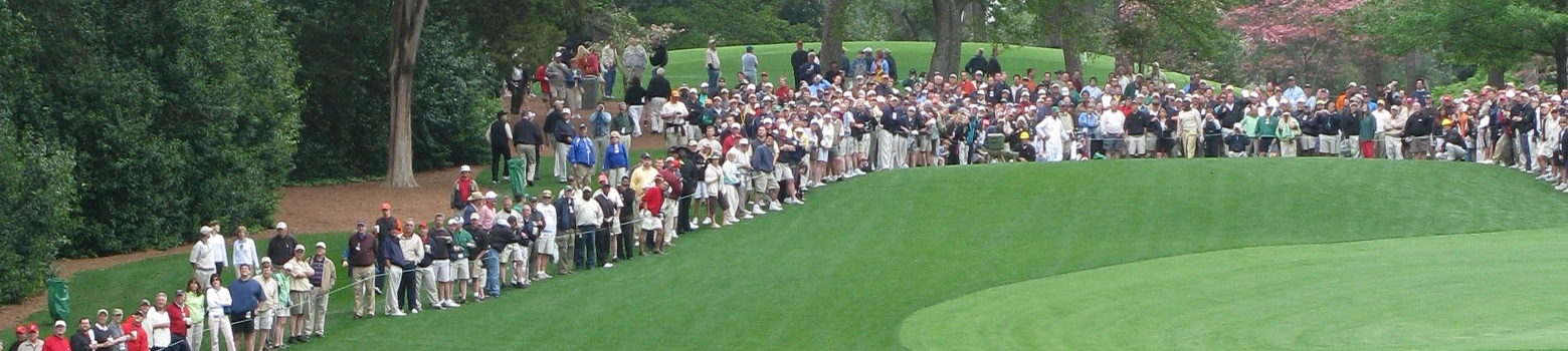 Visit Augusta during the Masters Golf Tournament