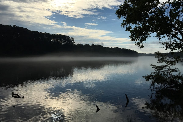 Augusta River in Augusta Georgia