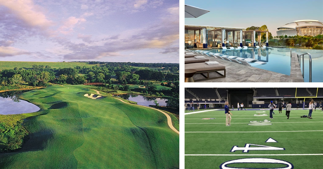 Cowboys Golf Club Travel Packages with Sports Traveler