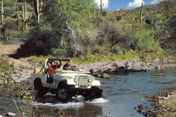 Jeep Tours in Scottsdale Arizona