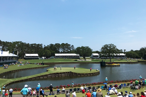 Guests stay right at the World Golf Village during the Players Championship
