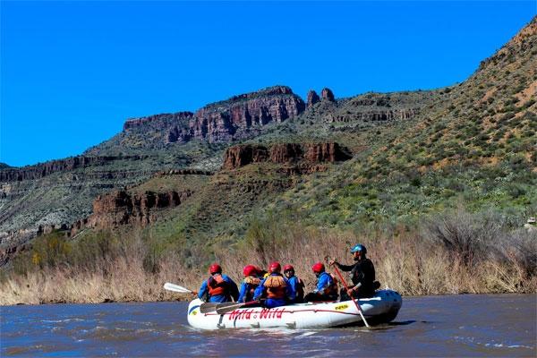 Rafting in Scottsdale Arizona