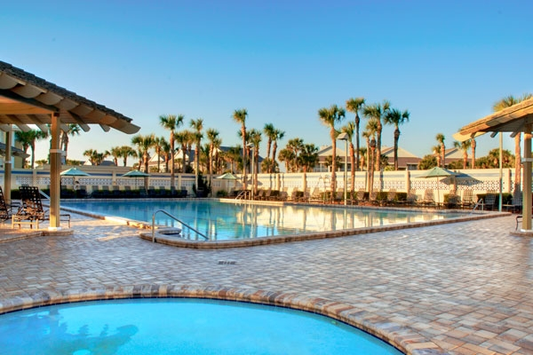 The pool at the Marriott Resort Sawgrass at the TPC Sawgrass Golf Course