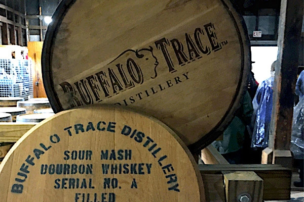 Buffalo Trace Distillery Tour in Kentucky with Sports Traveler