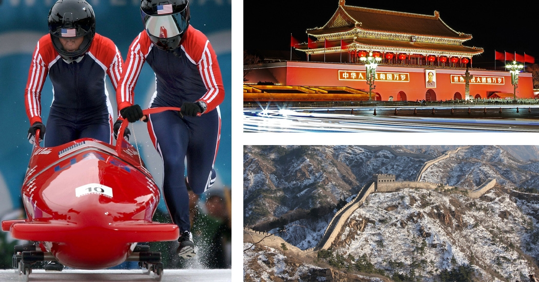 Scenes from the 2022 Beijing Winter Olympic Games