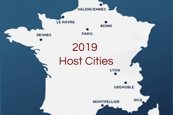 2019 Women's World Cup Host Cities